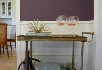 660x990px Stunning  Shabby Chic Vintage Bar Cart Image Ideas Picture in Dining Room
