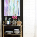 Fabulous  Eclectic Bamboo Bar Cart Image , Stunning  Contemporary Bamboo Bar Cart Photo Inspirations In Dining Room Category