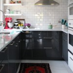Wonderful  Midcentury Ikea Black Kitchen Image Ideas , Lovely  Traditional Ikea Black Kitchen Image Ideas In Kitchen Category