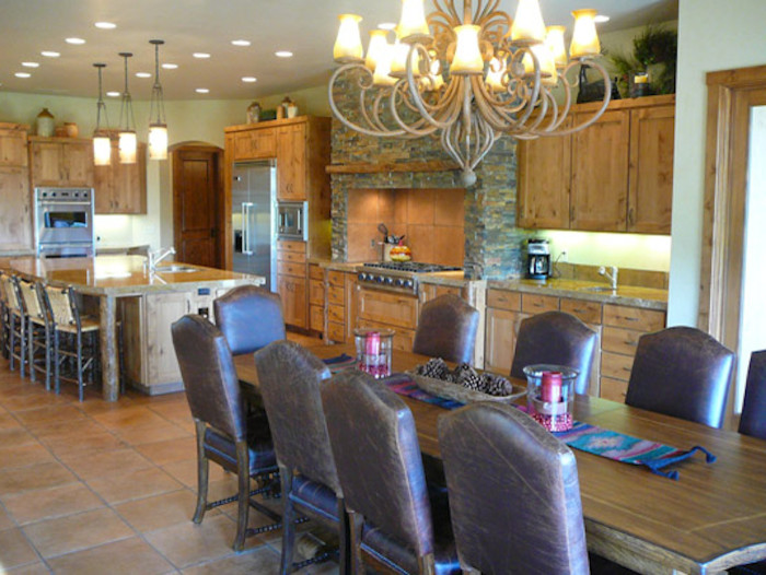 700x526px Fabulous  Rustic Kitchen Dining Room Tables Inspiration Picture in Dining Room